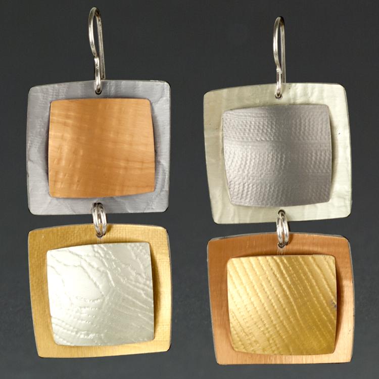 A - Grey, Orange, Gold.