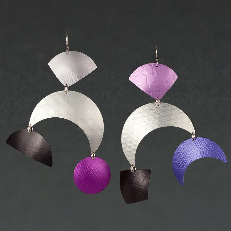 E - Grey, Silver, Violet