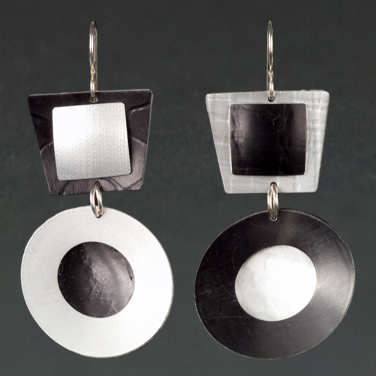 A - Black, Silver