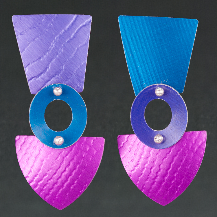 B - Purple, Royal, Violet