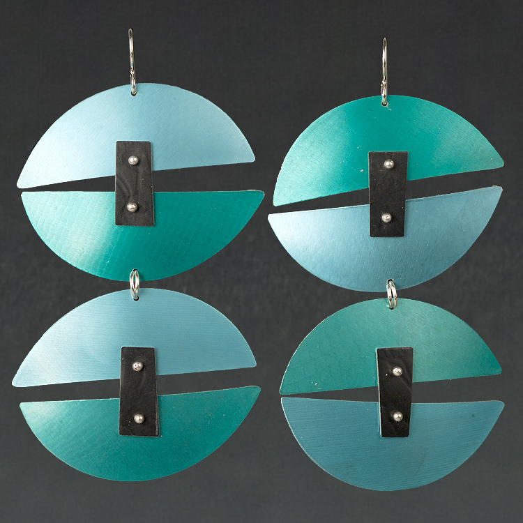 B - Aqua, Turquoise