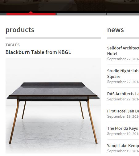 Blackburn Coffee Table