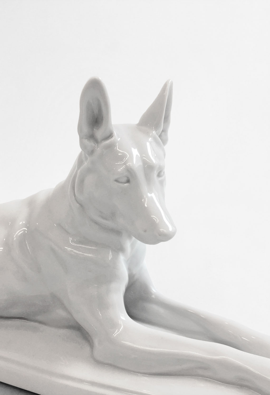 German Shepherd Figurine Kgbl