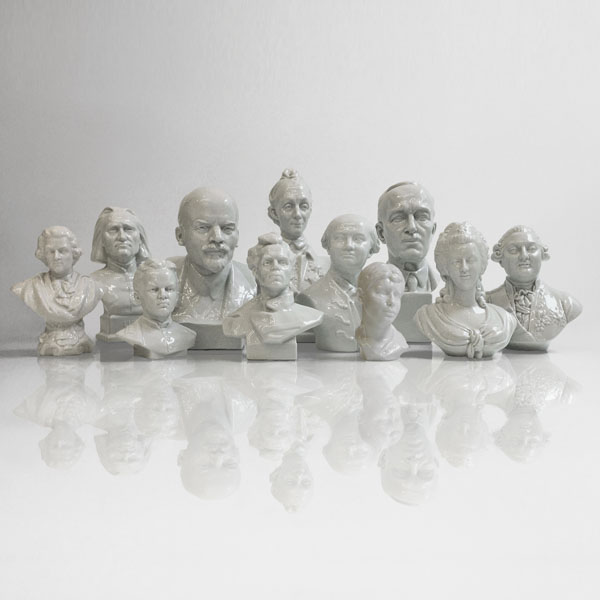 Porcelain Bust Group