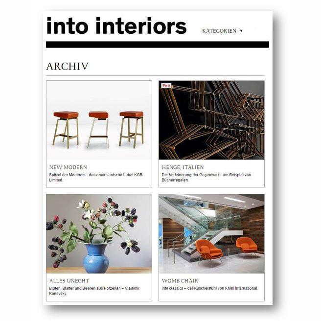 Into Interiors, Jan 2017
