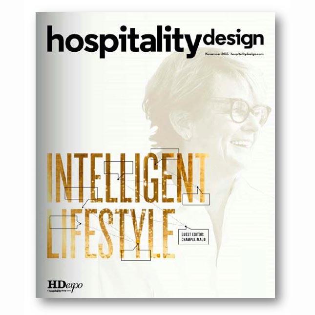 Hospitality Design, Nov 2015