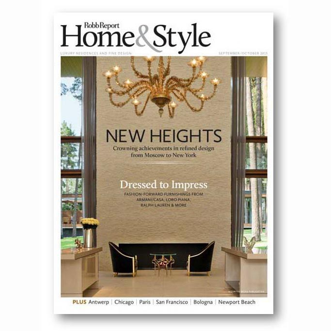 Robb Report Home & Style, Sep 2015