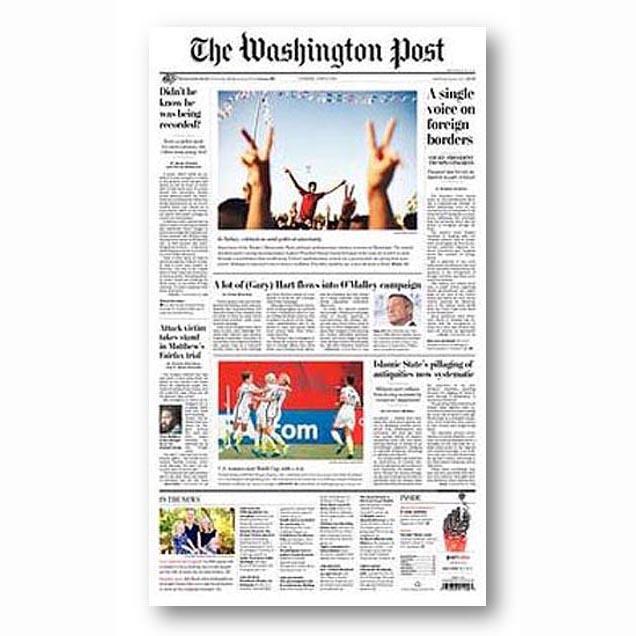 The Washington Post, June 2014