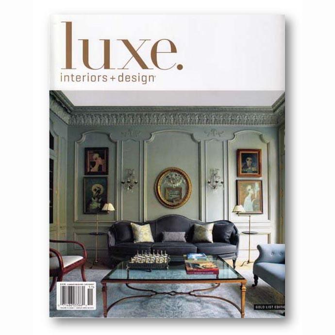 Luxe. Interiors + Design, Winter 2015
