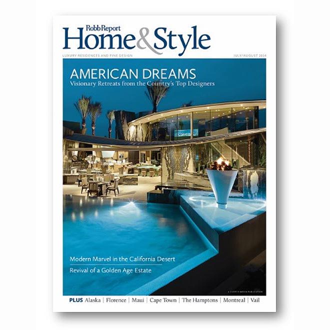 Robb Report Home & Style, Aug 2014