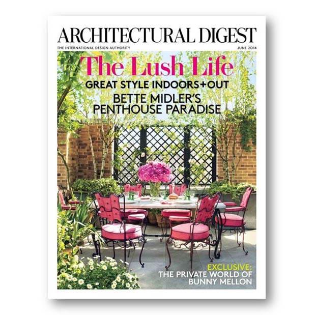 Architectural Digest, June 2014