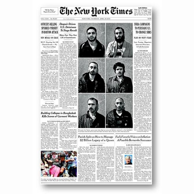 The New York Times, Apr 2013