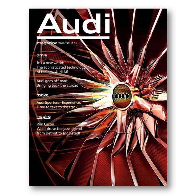 Audi Magazine, Jan 2012