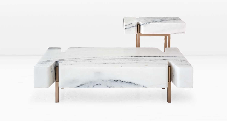 Terranova Coffee Table with Terranova Side Table