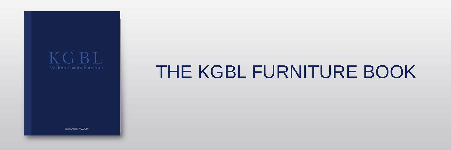 NOW AVAILABLE - Our first ever KGBL Furniture Book is now available for purchase! A 300 page, soft cover