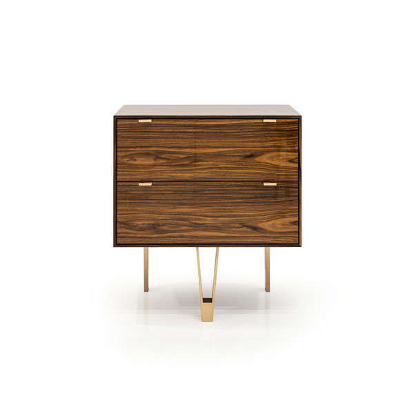 Saxton Cabinet / End Table: Lacquered