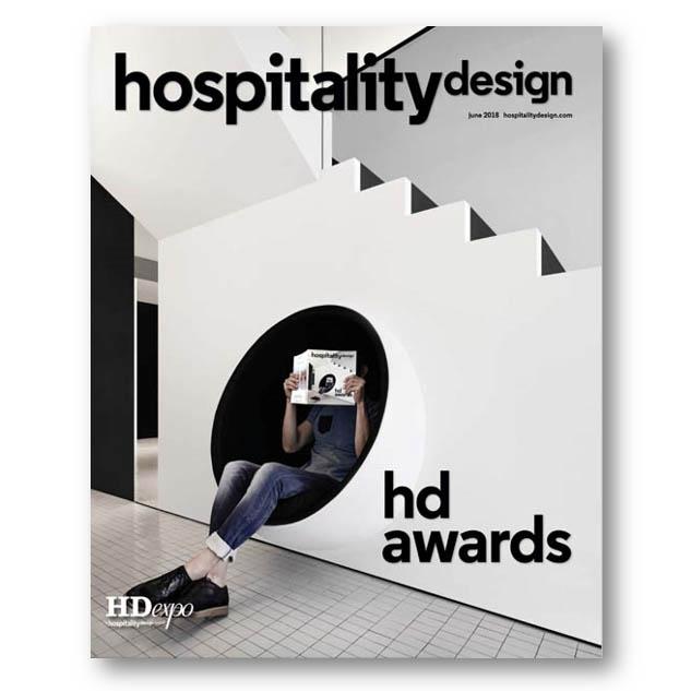 Hospitality Design, June 2018