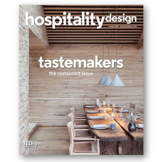 Hospitality Design, Oct 2018