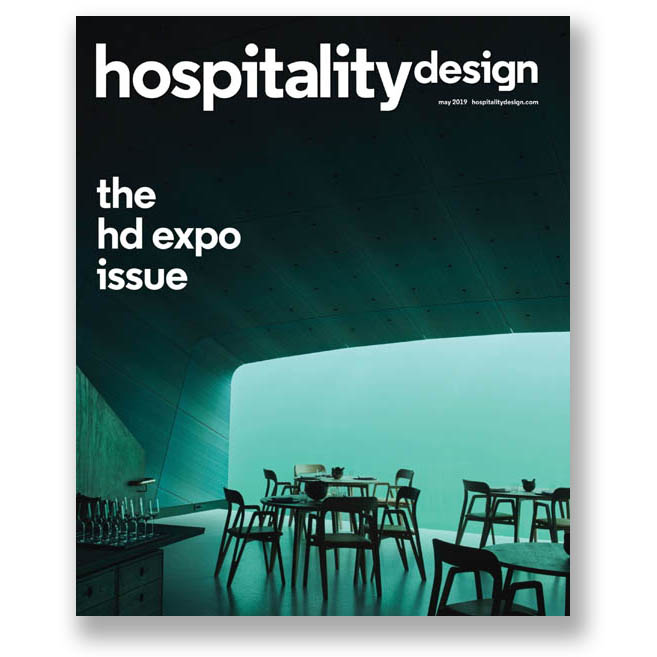 Hospitality Design, May 2019