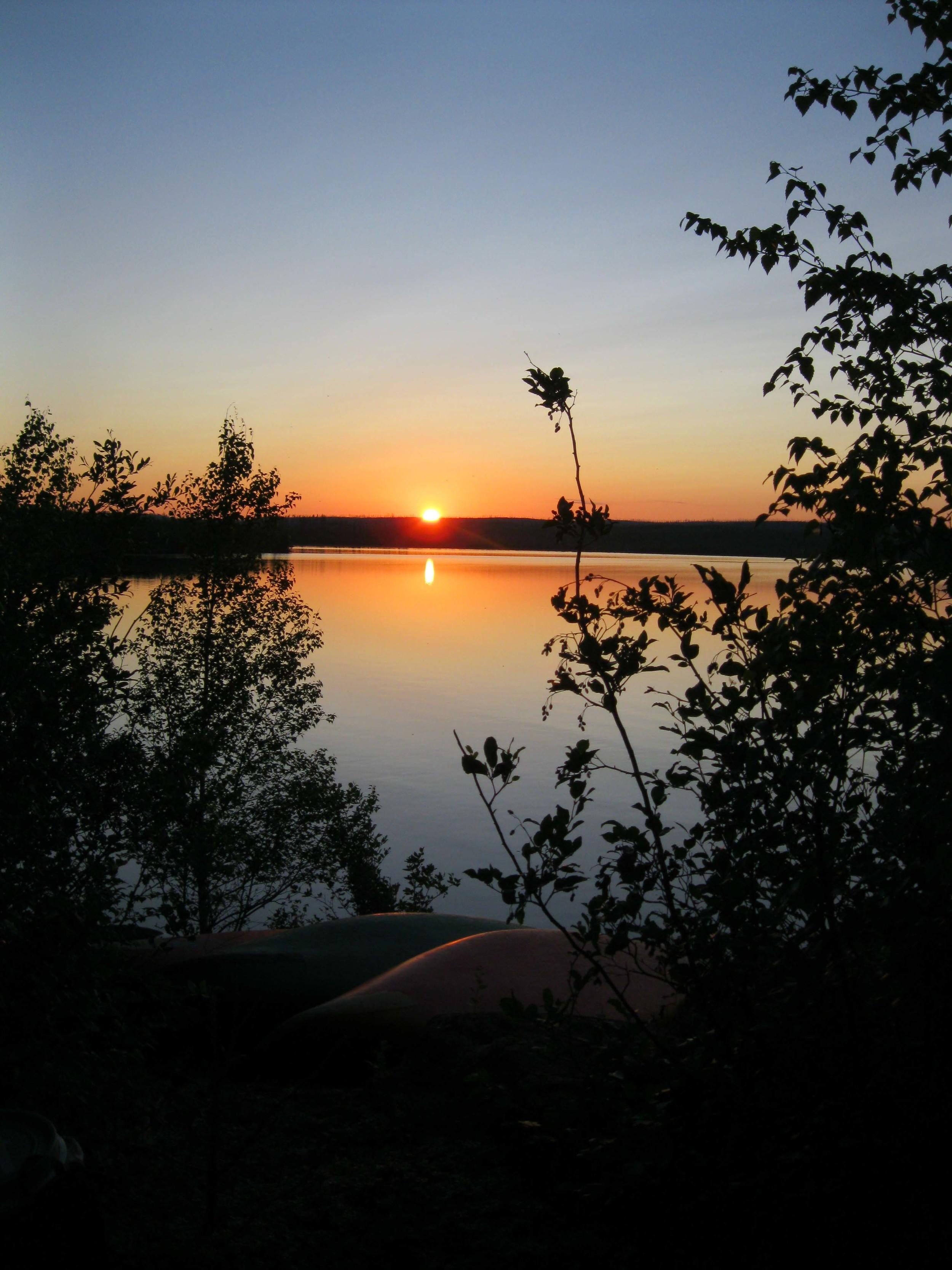 Sunset Canoe @ Retreat