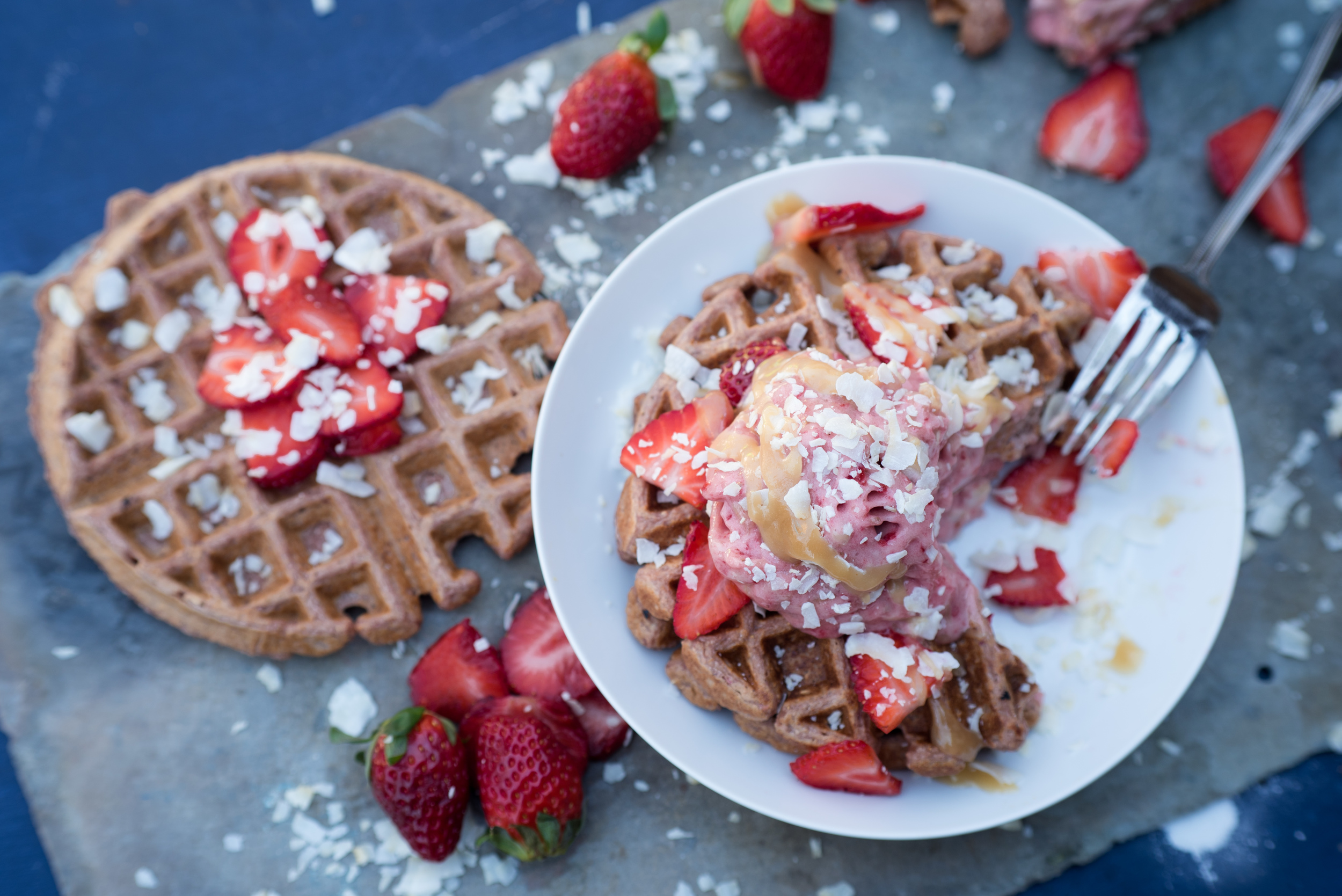 Waffles, by an indianapolis foodie photohrapher