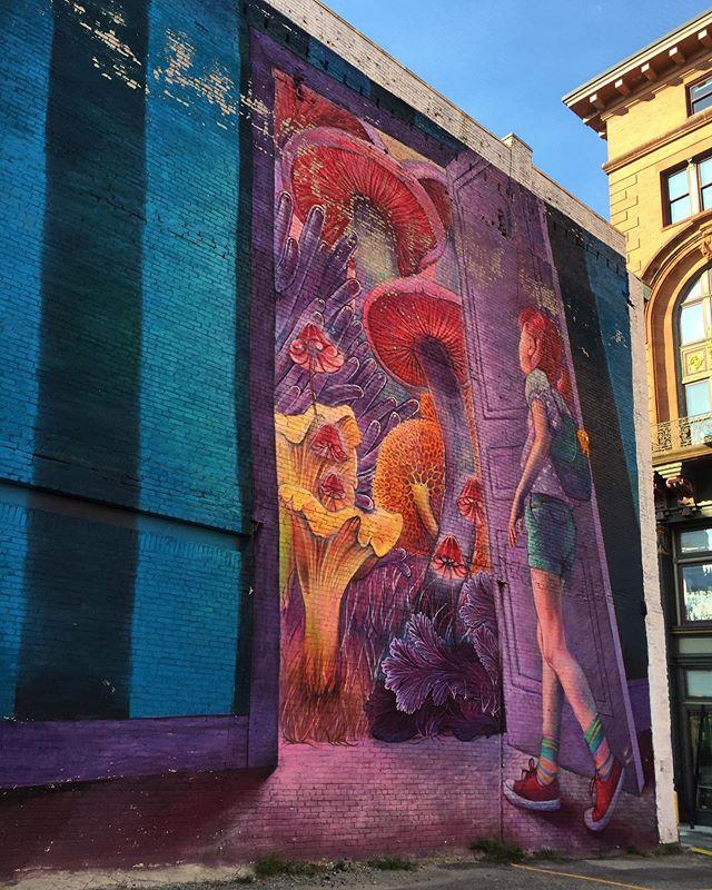 Street art in Providence, Rhode Island 😍