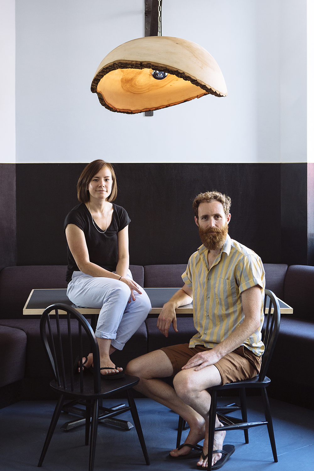 Pippa Murray and Simon Lamason of Other Works, Photographed at Verden, London, 2014