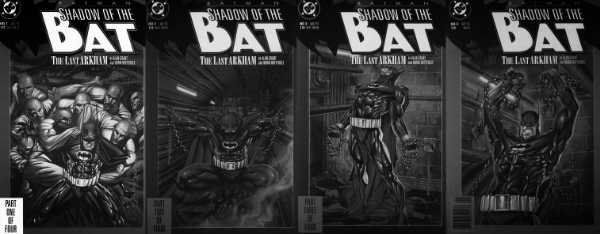 Shadow of the Bat The Last Arkham set
