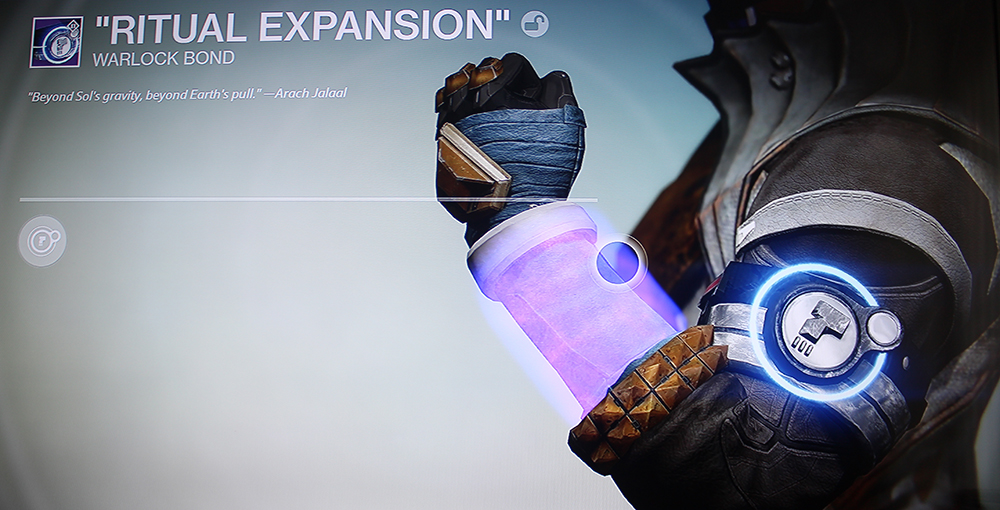 Destiny Warlock Bond Ritual Expansion Dead Orbit Class Item