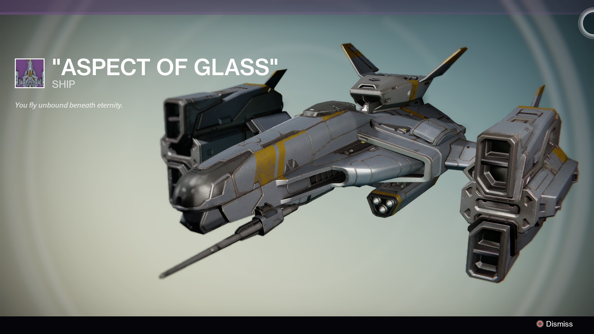Destiny Aspect of Glass