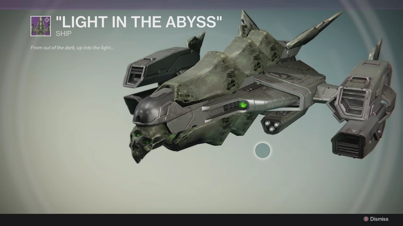 Destiny Light in the Abyss