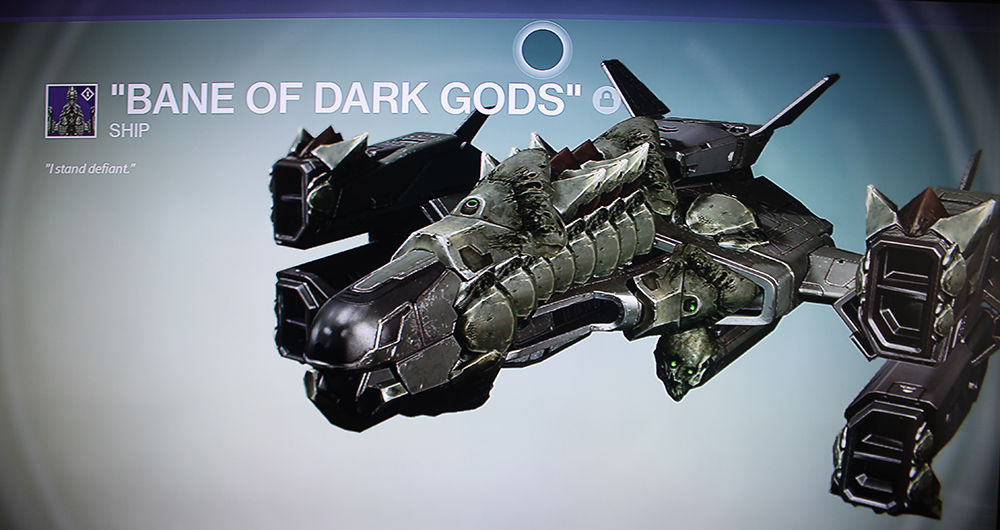 Destiny Bane of Dark Gods