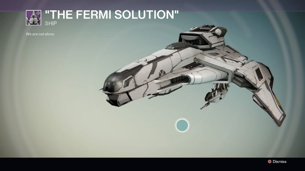 The Fermi Solution Dead Orbit Ship