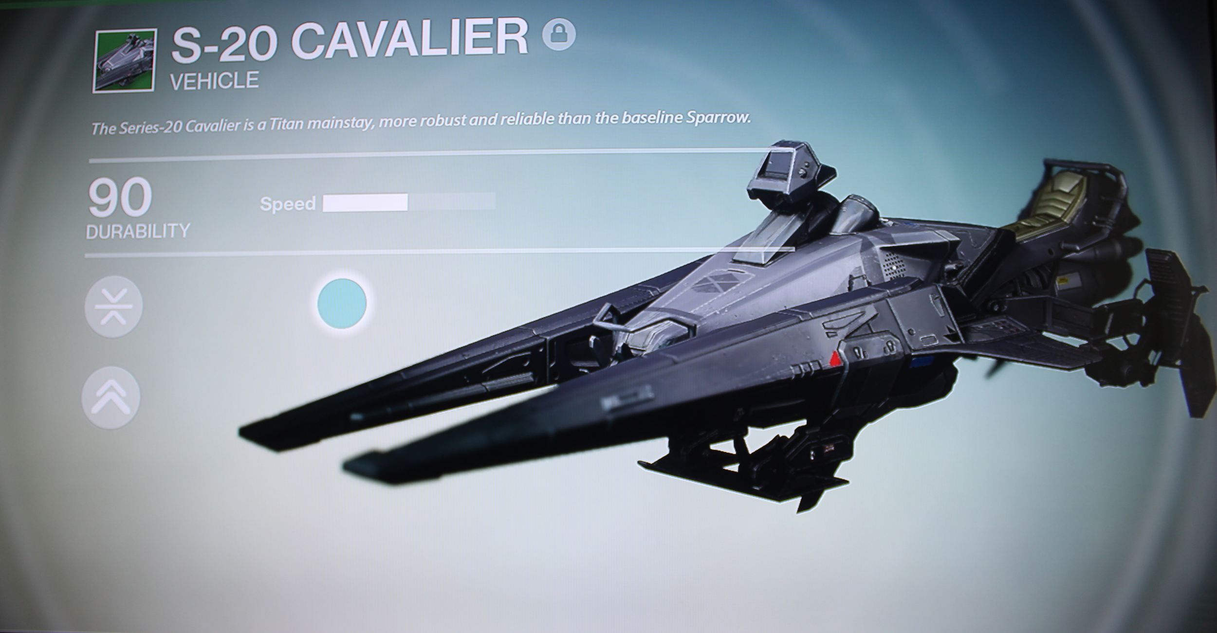 Destiny Black Sparrow S-20 Cavalier
