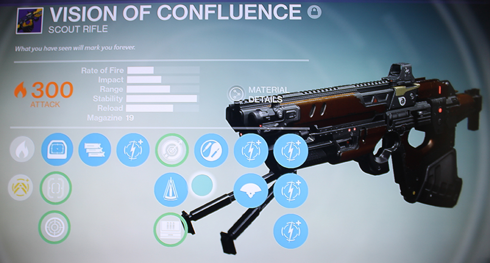 Destiny Vision of Confluence Vault of Glass