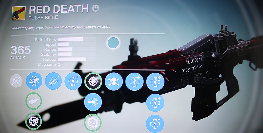 Destiny Red Death