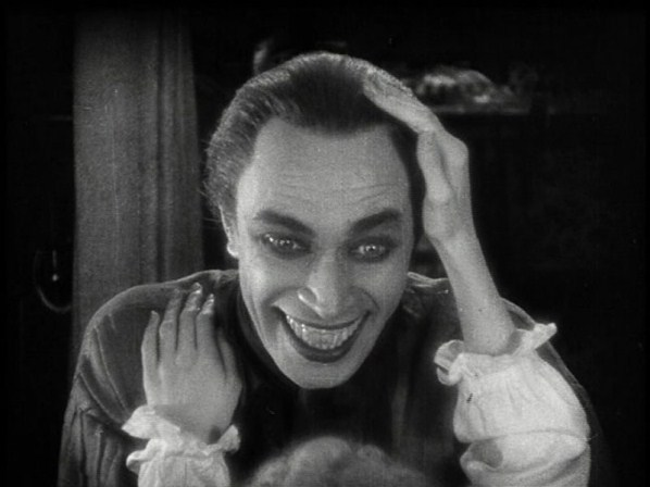 "Conrad Veidt in ""The Man Who Laughs"""