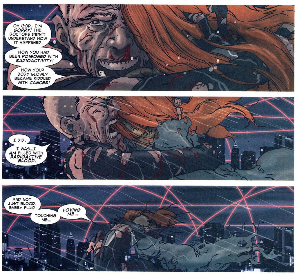 spiderman kills mary jane with radioactive sperm, semen, spiderman reign