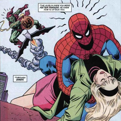 Death of Gwen Stacey Green Goblin Spider-Man