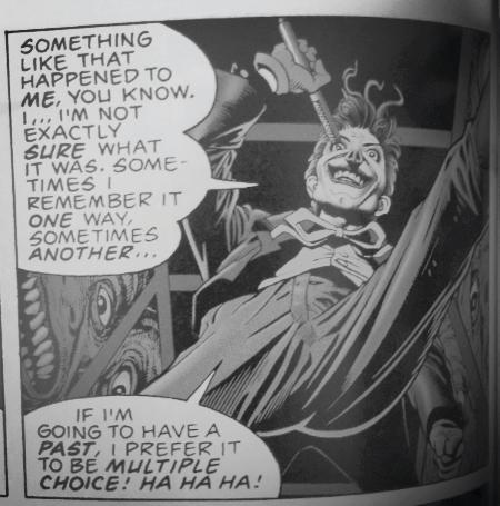 The Joker, The Killing Joke, Multiple choice quote