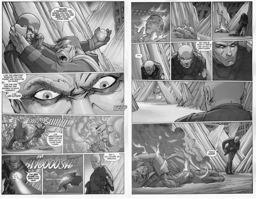 Lex Luthor kills Kryptonian, New Krypton Story Arc
