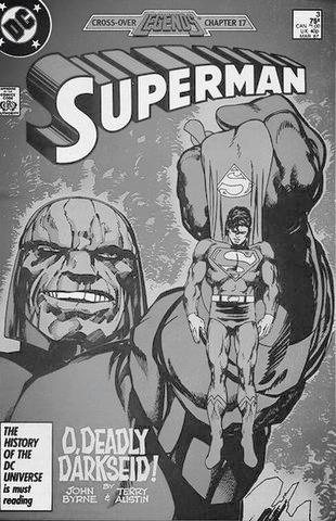 Darkseid Superman Vol. 2 #3 Crossover Series