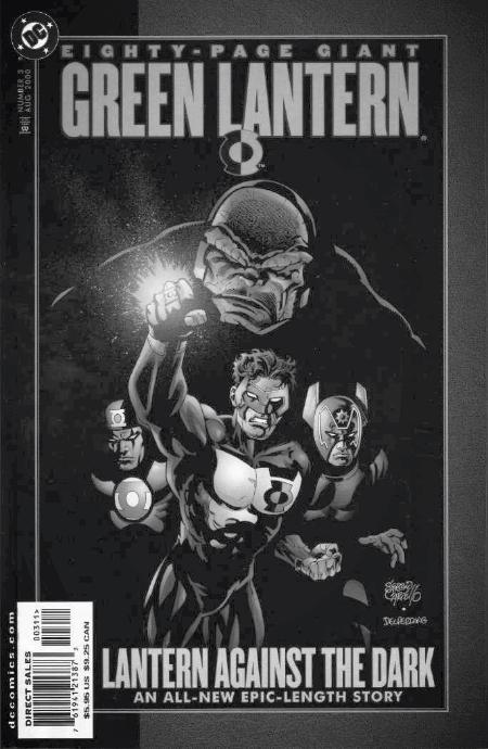 Darkseid in Green Lantern 80 Page Giant #3