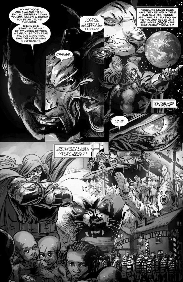 Dr. Doom most evil quotes