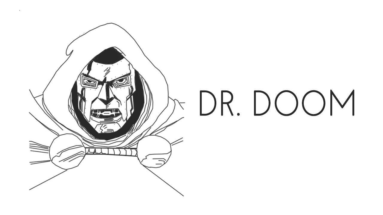 Dr. Doom steals Silver Surfer's board