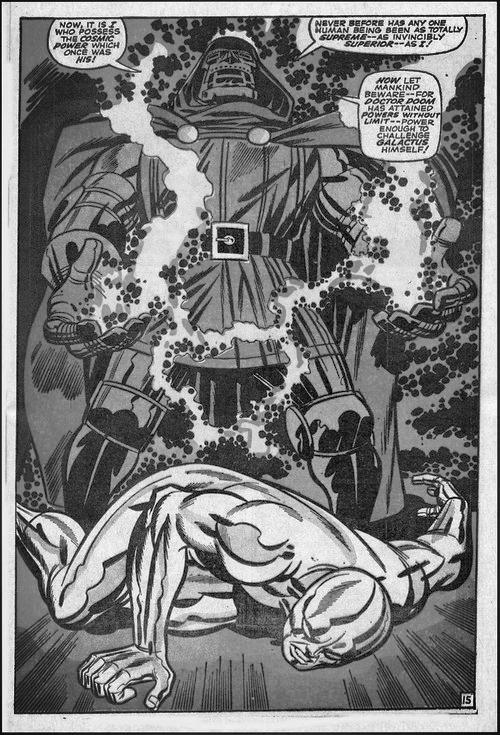Dr. Doom vs. Silver Surfer