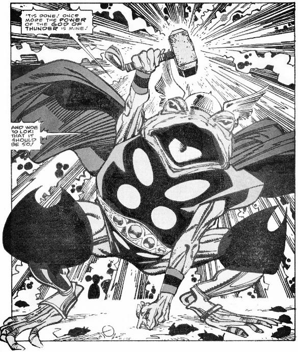 Thor Thunder Frog Simmonson Thor 364, Thor365, Thor 366