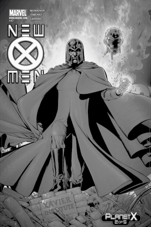 Magneto, Planet X Cover Art
