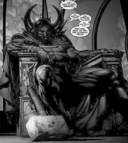 Magneto w/ Thor's Hammer, Ultimatum