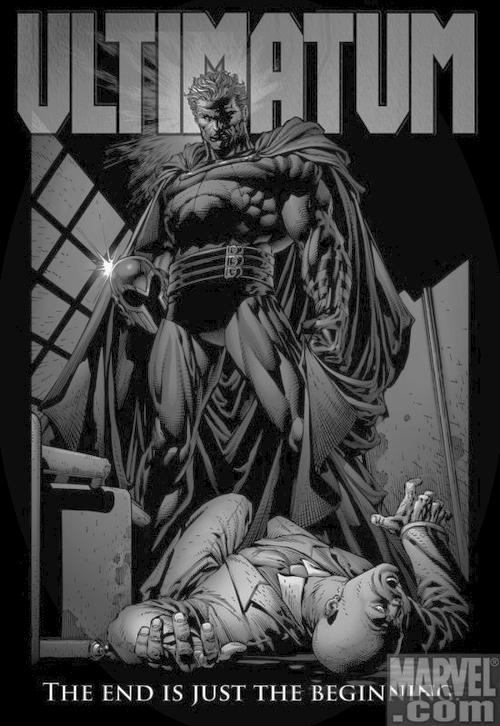 Magneto kills Xavier, Professor X, Ultimatum